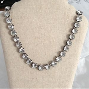 Stella and Dot vintage crystal necklace!